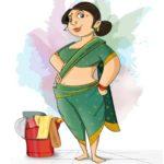 "Behind every successful women is a "" Kaamwali Bai"""