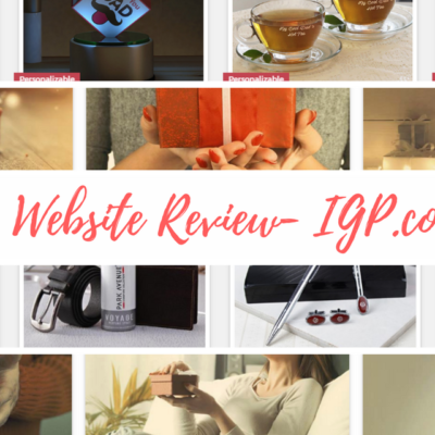 Website Review-Indian Gifts Portal– Gifts for Her, Him and All