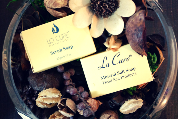 Goodness Of Dead Sea Mineral In La Cure Beauty Products