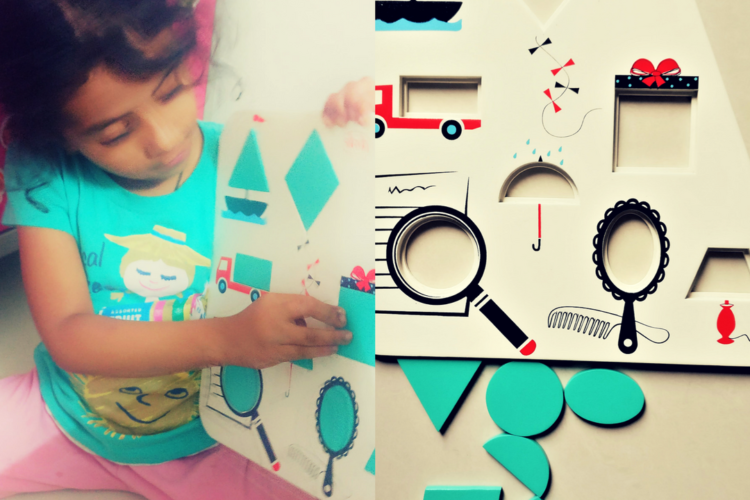 Learning made fun with Skola wooden toys for kids