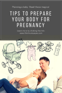 prepare your body for pregnancy