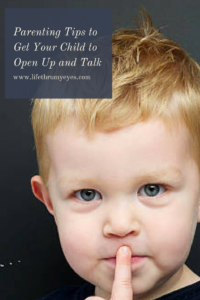 Children to open up and talk
