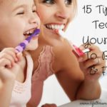 15 Tips To Teach Your Kids To Brush & Floss