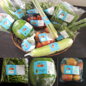 Assorted vegetables from Earth Food