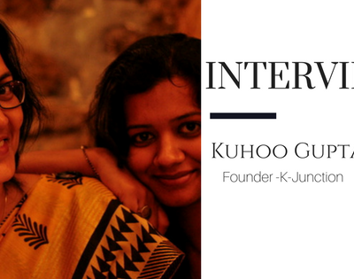 Mommy Blogger Interview- Kuhoo Gupta, K-Junction