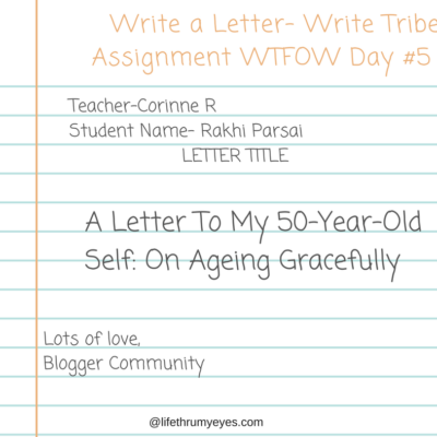A Letter To My 50-Year-Old Self On Aging Gracefully