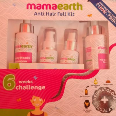 Things You Should Do to Prevent Hair Damage This Winter-Mamaearth Anti-Hair Fall Kit Review