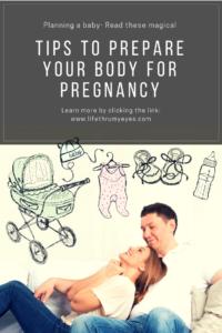 prepare your body for pregnancy