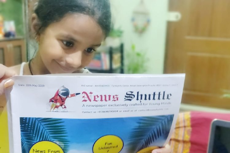 News Shuttle, An Exclusive Newspaper For Young Minds